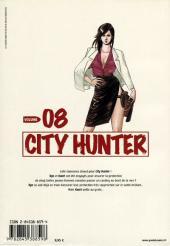 Verso de City Hunter (édition de luxe) -8- Volume 08