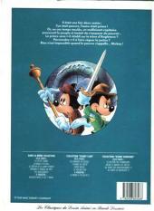 Verso de Les classiques du dessin animé en bande dessinée -3- Le Prince et le Pauvre
