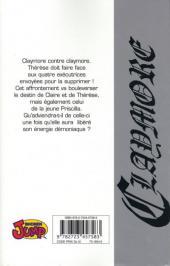 Verso de Claymore (Yagi) -5- Histoire de guerrières