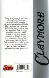 Verso de Claymore (Yagi) -8- L'antre de la sorcière