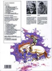 Verso de Comanche -6c1989- Furie rebelle