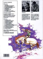 Verso de Comanche -7b1989- Le doigt du diable