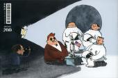 Verso de La conquête de Mars -1- Le premier homme sur la Lune