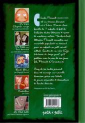 Verso de Les contes en bandes dessinées - Perrault