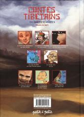 Verso de Contes du monde en bandes dessinées - Contes tibétains en bandes dessinées