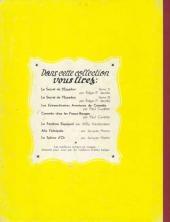 Verso de Corentin (Cuvelier) -2b1982- Les nouvelles aventures de Corentin