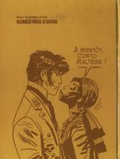 Verso de Corto Maltese (première série cartonnée) -2- L'aigle du Brésil