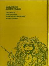 Verso de Corto Maltese (première série cartonnée) -3- La conga des bananes