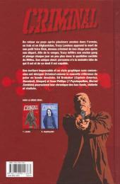 Verso de Criminal -2- Impitoyable