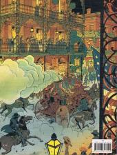Verso de Jim Cutlass (Une aventure de) -2- L'Homme de la Nouvelle-Orleans