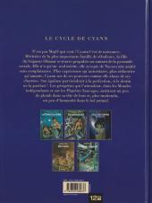 Verso de Le cycle de Cyann -2a- Six saisons sur ilO
