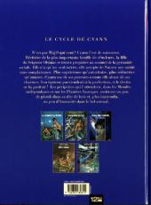 Verso de Le cycle de Cyann -HSc- La Clé des Confins