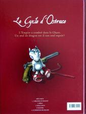 Verso de Le cycle d'Ostruce -3- Désillusion
