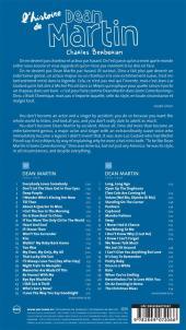Verso de BD Voices -6- L'histoire de Dean Martin