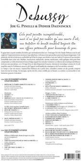 Verso de BD Classique -1- Debussy