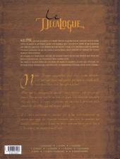 Verso de Le décalogue -3- Le météore
