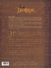 Verso de Le décalogue -5- Le vengeur