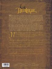 Verso de Le décalogue -7- Les conjurés