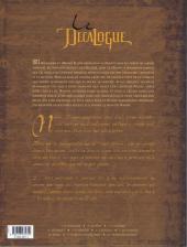 Verso de Le décalogue -8- Nahik