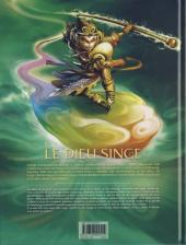Verso de Le dieu singe -1- Volume 1