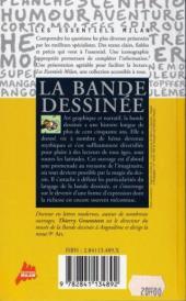 Verso de (DOC) Études et essais divers - La Bande dessinée