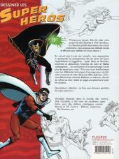 Verso de (DOC) Techniques de dessin et de création de BD - Dessiner les super héros