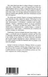 Verso de (DOC) Études et essais divers - Bande dessinée franco-belge et imaginaire colonial - Des années 1930 aux années 1980