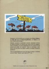 Verso de (DOC) Études et essais divers - Héros disparus : bande à part dans le 9ème art