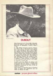 Verso de (DOC) Carton - Les cahiers du dessin d'humour -3- Dubout