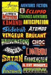 Verso de Dracula (Aredit - Comics Pocket) -8- La nuit du vaudou