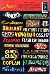 Verso de Dracula (Aredit - Comics Pocket) -2- L'ombre du vampire