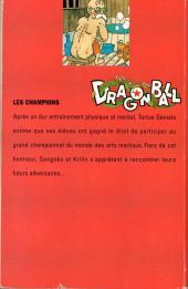 Verso de Dragon Ball -6- Les champions
