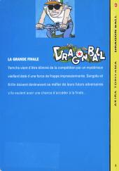 Verso de Dragon Ball -8- La grande finale