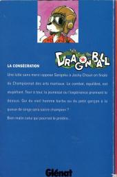 Verso de Dragon Ball -9- La consécration