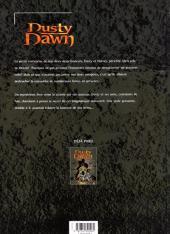Verso de Dusty Dawn -2- L'héritage maléfique - 2ème partie