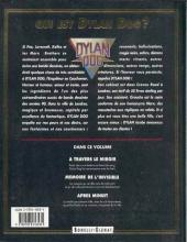 Verso de Dylan Dog (Glénat) -2- Mémoire de l'invisible