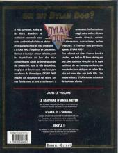 Verso de Dylan Dog (Glénat) -3- L'alfa et l'oméga
