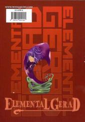 Verso de Elemental Gerad -8- Tome 8