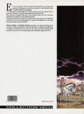 Verso de L'empereur du dernier jour -1- Le prince vautour