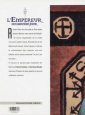 Verso de L'empereur du dernier jour -5- Les rançons de la gloire