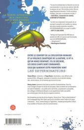Verso de Les exterminateurs -1- Bug brothers