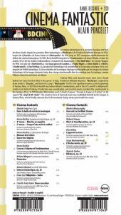 Verso de BD Ciné -7- Cinéma Fantastic