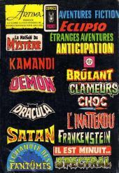 Verso de Le fils de Satan -7- Fille du diable