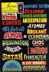 Verso de Le fils de Satan -5- Les tarots diaboliques