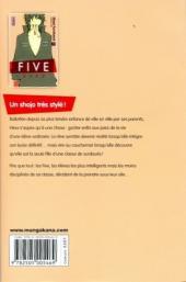 Verso de Five -1- Tome 1