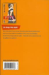 Verso de Five -5- Tome 5