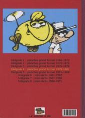 Verso de Le flagada -INT4- Intégrale 4 : 1979-1981