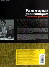 Verso de Fluidoscope - Panoramas panoramiques du monde planétaire