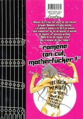 Verso de Fool on the rock -1- Volume 1