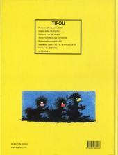 Verso de Les tifous - Les Tifous